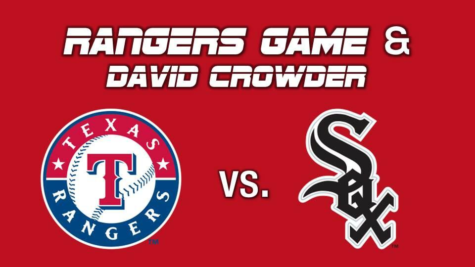 Ranger Game and David Crowder Concert