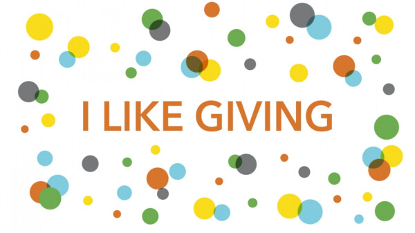 Series: I Like Giving