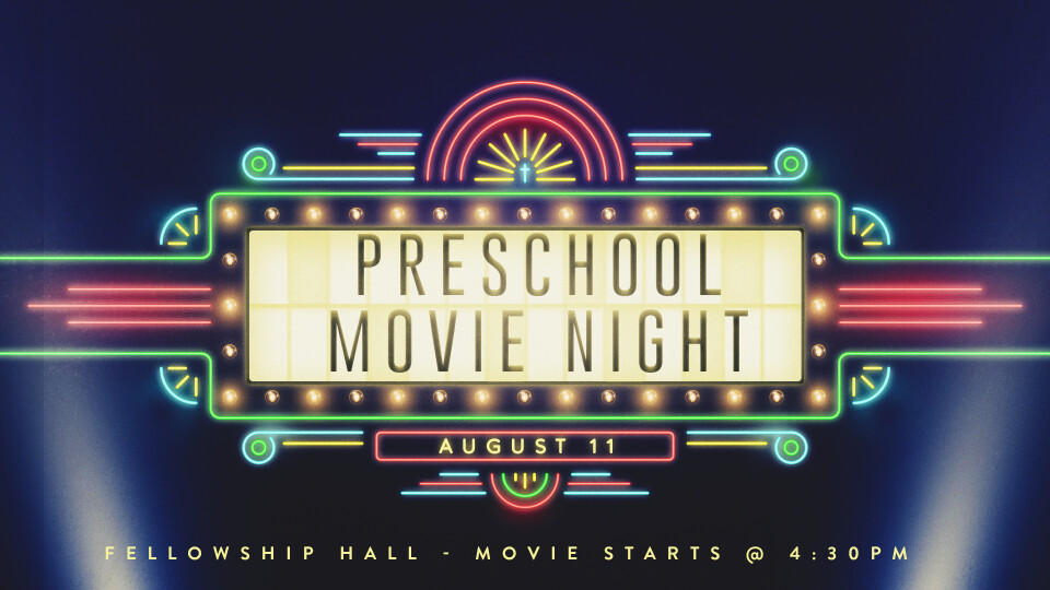 Preschool Movie Night